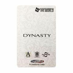 """絕版限定""Dartslive 2卡片 DYNASTY CARD THE WORLD DYNASTY"