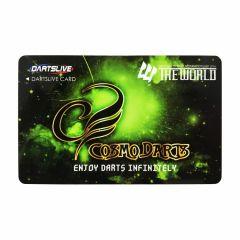 """""""絕版限定""""Dartslive 2卡片  THE WORLD Cosmo Darts"""