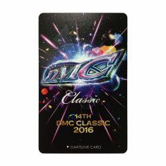 """""""絕版限定""""Dartslive 2卡片 DMC 2016-1"""