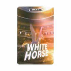 """Card"" Phoenix Card 2019003-White Horse"
