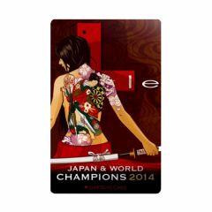 """""""絕版限定""""  L-style DARTSLIVE Card (Japan & world champions 2014)"""
