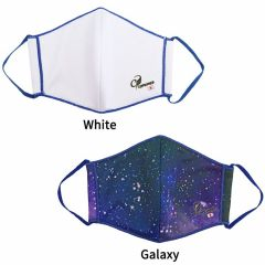"""COSMO DARTS"" Mask 口罩 [White/Galaxy]"