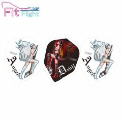 """Fit Flight(厚鏢翼)"" DCRAFT Angel & Devil Girl 天使&惡魔女孩 [Shape]"
