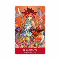 """""""限定"""" DARTSLIVE CARD 卡片 Monster Strike 怪物彈珠 Excalibur 王者之劍"""