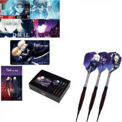 """""""DARTSLIVE"""" Fate Stay Night Darts Set - Tungsten Darts """"Saber / Saber Altar"""" [2BA] 【11月5日(二)21:30開始發售】"""