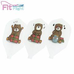 """Fit Flight(厚鏢翼)"" DCRAFT 熊 (Bear) [Shape]"