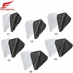 """Cosmo darts"" Fit Flight Pro V-Type [White/D Black] (預購)"