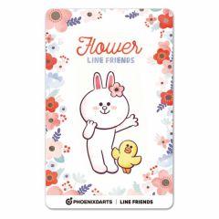 """Card"" PHOENicA LINE Friends3 Phoenix Card Flower"