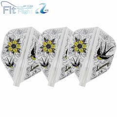 """Fit Flight AIR(Fit薄鏢翼)"" COSMO DARTS Design Contest FREEDOM&PEACE [Shape]"