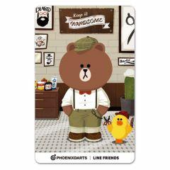 """Card"" PHOENicA LINE Friends3 Phoenix Card Handsome"