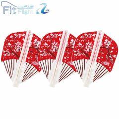 """Fit Flight AIR(Fit薄鏢翼)"" COSMO DARTS Design Contest Japanese Paper Fan [Shape]"