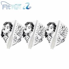 """Fit Flight Air (薄鏢翼)"" COSMO DARTS Design Contest Shades of Black [Shape]"