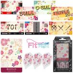 """DARTSLIVE"" Fit Flight Special Pack CARD  鏢翼+卡片+主題 <Sakura(櫻)>"
