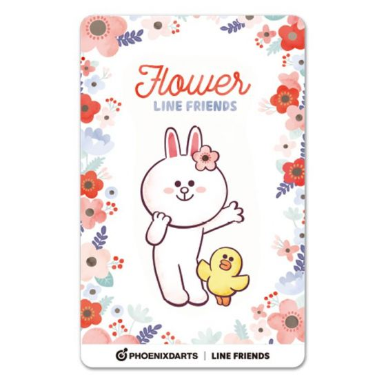 Card Phoenica Line Friends3 Phoenix Card Flower